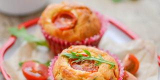 Śniadaniowe muffinki z szynką